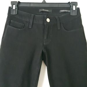 NEW Black Guess skinny jeans size 24